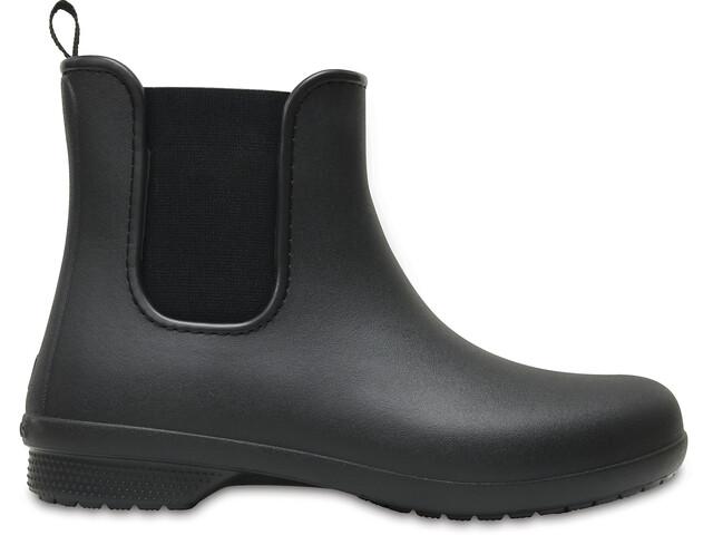 Crocs Freesail - Bottes en caoutchouc Femme - noir
